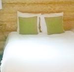 chalet green chambre à coucher