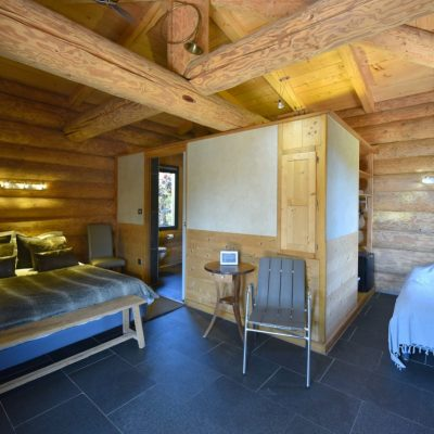 chalet Hutte chambre