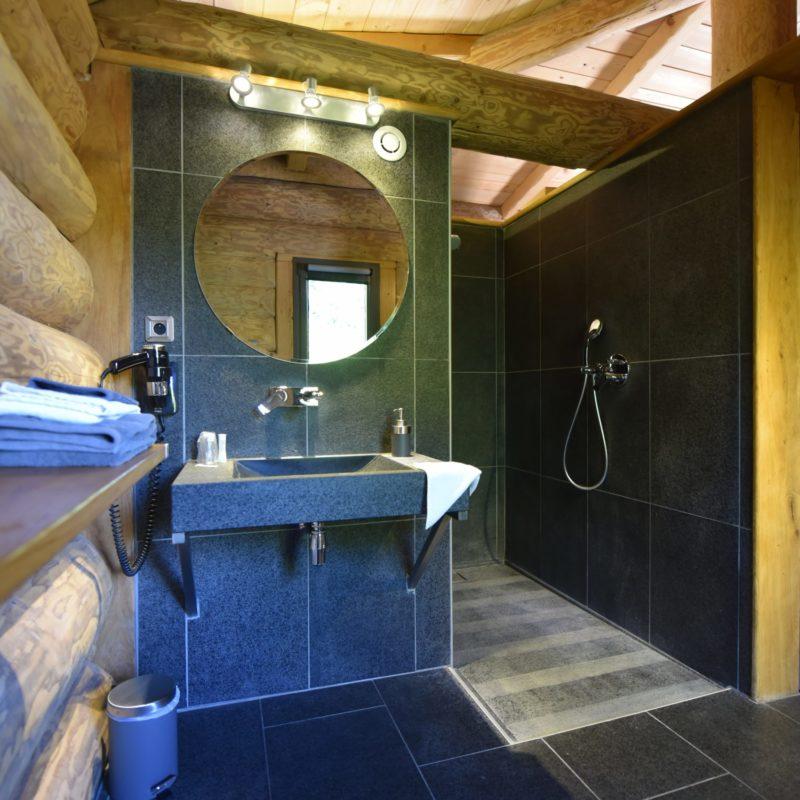 chalet Hutte salle de bain