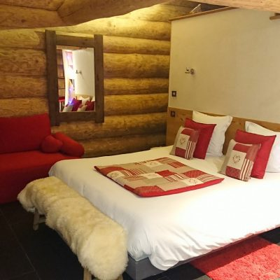 chalet maramour chambre